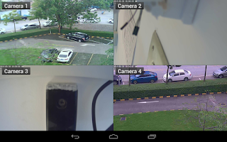 Screenshot of Viewer for Vstarcam IP cameras