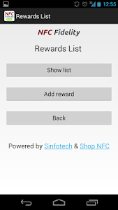 NFC Fidelity screenshot 3