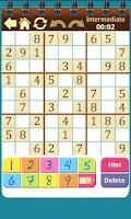 Screenshot of Sudoku Shelf
