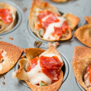 Pepperoni Pizza Dip Cups.