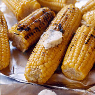 Grilled Corn with Parmesan Butter.