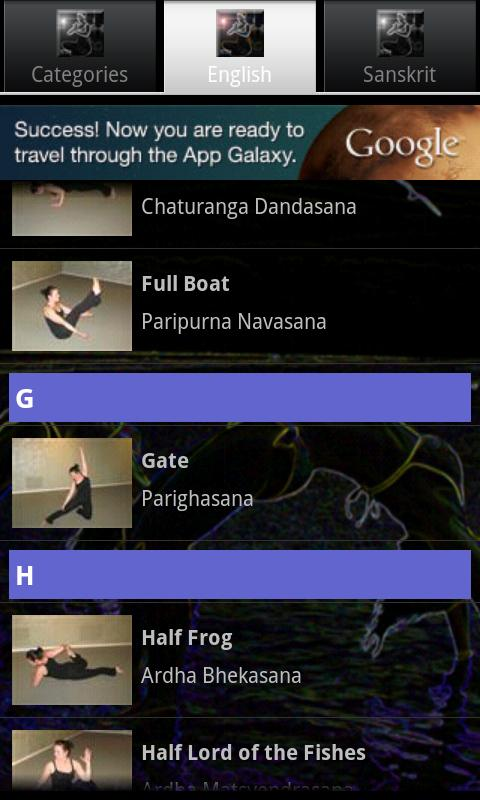 Yoga-pedia - screenshot