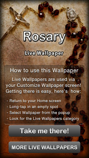 Rosary Live Wallpaper