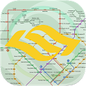 Singapore MRT Map icon