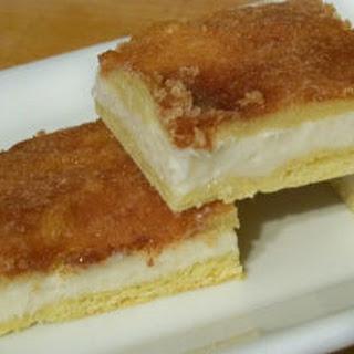 Vanilla Cheesecake Crescent Rolls.