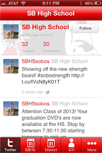 South Beloit High School- screenshot thumbnail