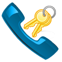 ICS Dialer Key icon