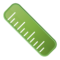 Ruler Green icon