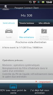 Peugeot Connect Client - screenshot thumbnail
