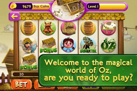 Slots Wizard of Oz 1.0.9 screenshot 38149