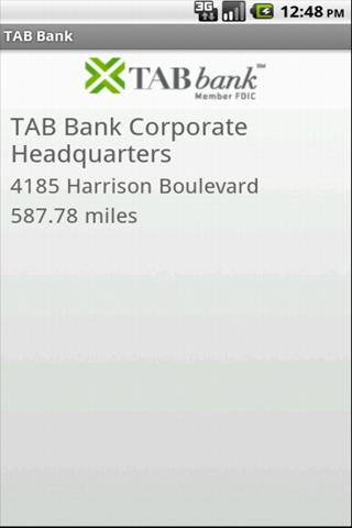 TAB Bank Mobile - screenshot