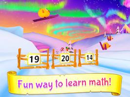 Screenshot of Wonder Bunny Math Race Grade K