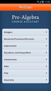 Pre-Algebra Course Assistant v1.0.5217491
