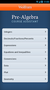 Pre-Algebra Course Assistant - screenshot thumbnail