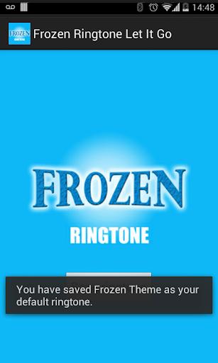 玩免費音樂APP|下載Frozen Ringtone - Let It Go app不用錢|硬是要APP