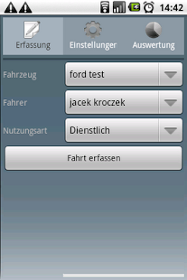 Fahrtenbuch For Android- screenshot thumbnail