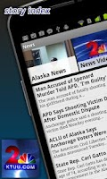 Screenshot of KTUU News From Anchorage