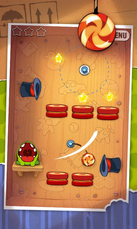 Cut the Rope- screenshot