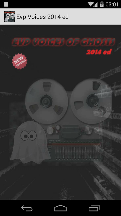 Evp - Voices of Ghosts 2014 Ed - screenshot