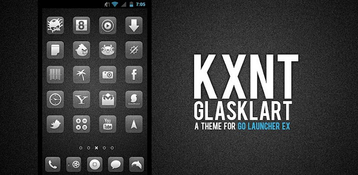 Glasklart Go Apex Theme apk