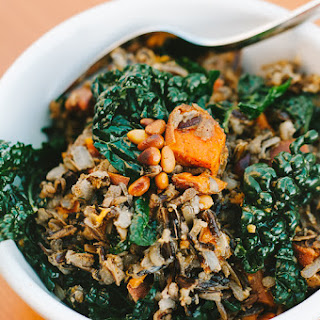 Kale Sweet Potato Pilaf