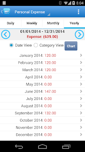 Expense Manager - screenshot thumbnail