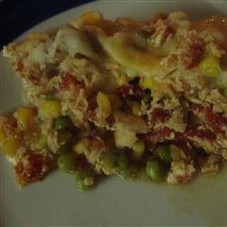 Chicken Shepherd's Pie.