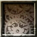 Silver Time Machine LWP icon
