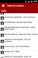 Screenshot of iCam Sevilla