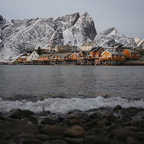 Sakrisøy by Sigbjørn Berg - Uncategorized All Uncategorized ( sakrisøy, lofoten )