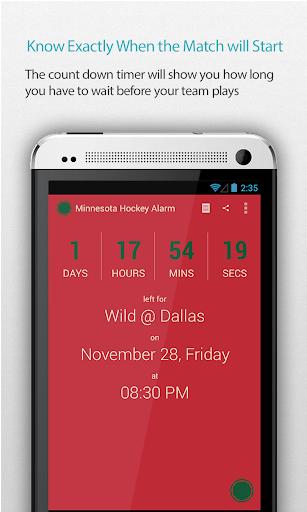 Minnesota Hockey Alarm Pro