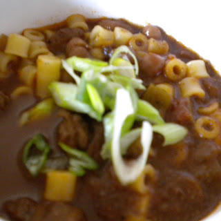Cowboy Coffee Chili-Mac.