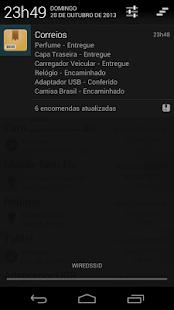 Correios: Rastrear Encomendas - screenshot thumbnail