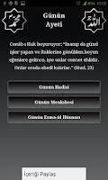 Screenshot of 2 Gün 1 Değil - 1 Ayet 1 Hadis