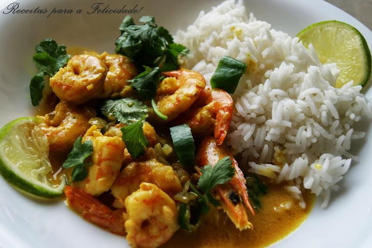 Coconut Curry with Shrimp Recipe