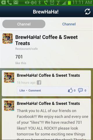 BrewHaHa Customer Loyalty App