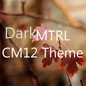 DarkMTRL Thyrus CM12 Theme