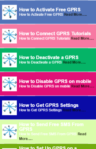 Free GPRS on mobile