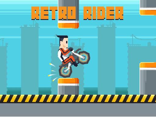 Retro Rider - 跳動的自行車比賽