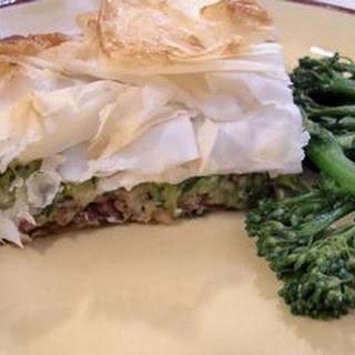 Moroccan Lamb Filo Pie Recipe