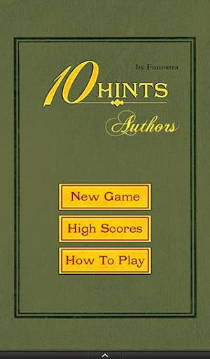 Ten Hints: Authors
