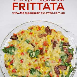Chorizo and Vegetable Frittata