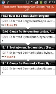 Skyss reiseplanlegger - screenshot thumbnail