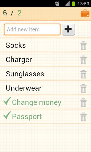玩旅遊App 旅行裝箱單免費 APP試玩