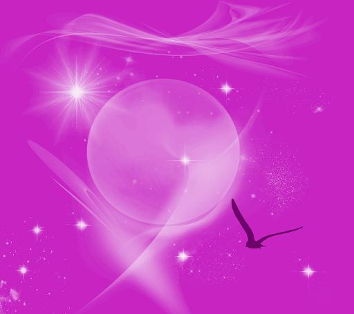LiveWallpaper-Pink Imagination