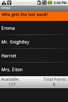 Screenshot of Emma