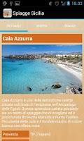 Screenshot of Italian Beaches Sicily
