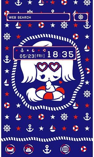 Cute Theme-Anchors Up- 1.0 Windows u7528 1
