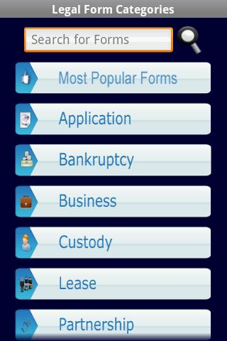 Legal Forms Document Templates - Android Apps On Google Play