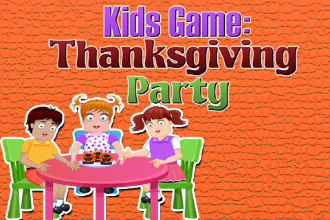 Kids Game : Thanksgiving Party